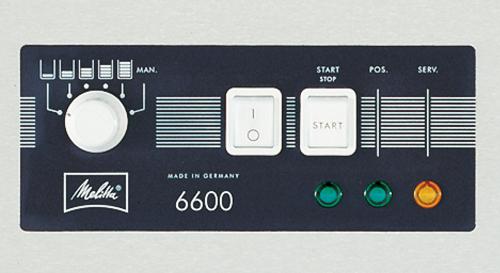 Melitta® 660 - Dosiermengenwahl